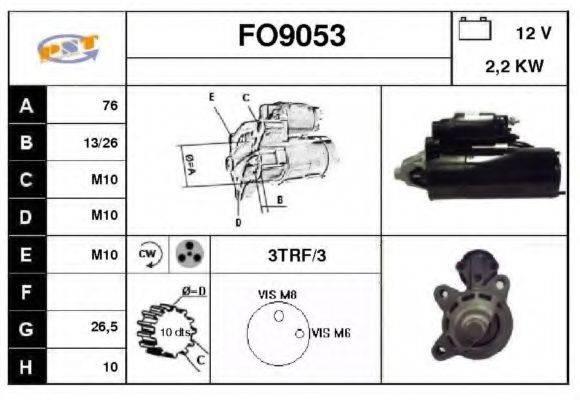 SNRA FO9053 Стартер