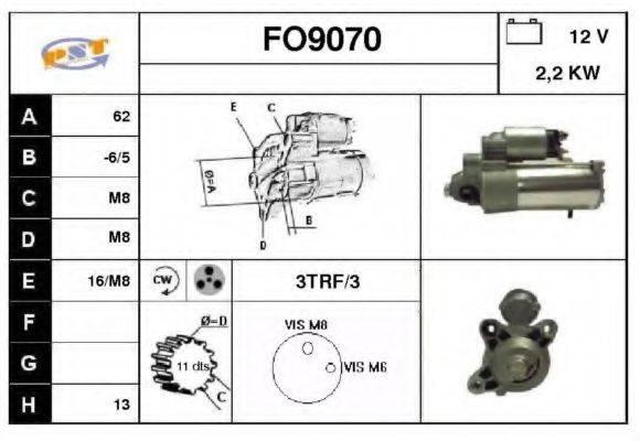 SNRA FO9070 Стартер