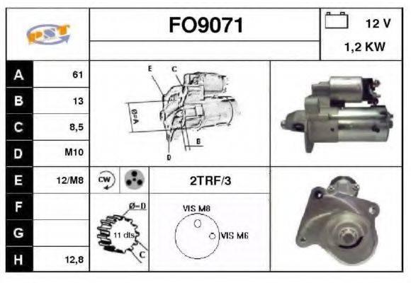 SNRA FO9071 Стартер