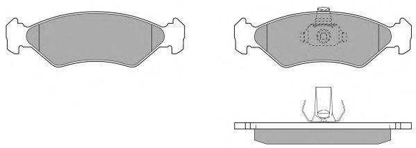 FREMAX FBP068101 Комплект тормозных колодок, дисковый тормоз