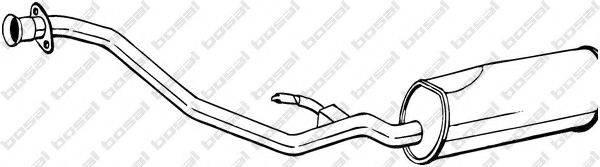 BOSAL 291061 Глушитель выхлопных газов конечный
