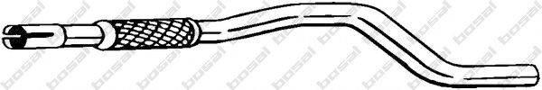 Труба выхлопного газа BOSAL 740-003