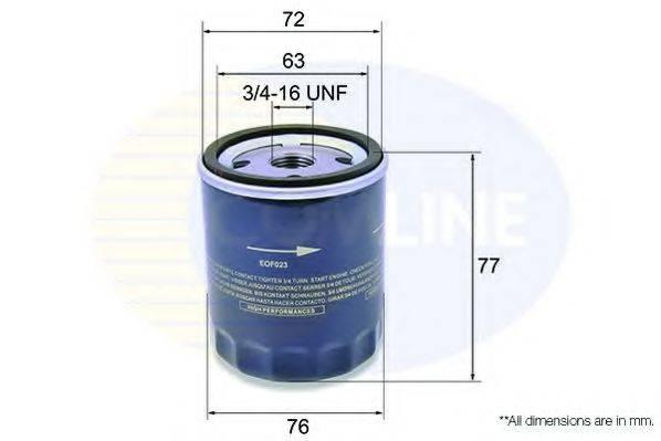 COMLINE EOF023 Масляный фильтр