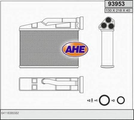 AHE 93953 Теплообменник, отопление салона