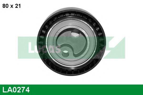 LUCAS ENGINE DRIVE LA0274 Паразитный / Ведущий ролик, зубчатый ремень