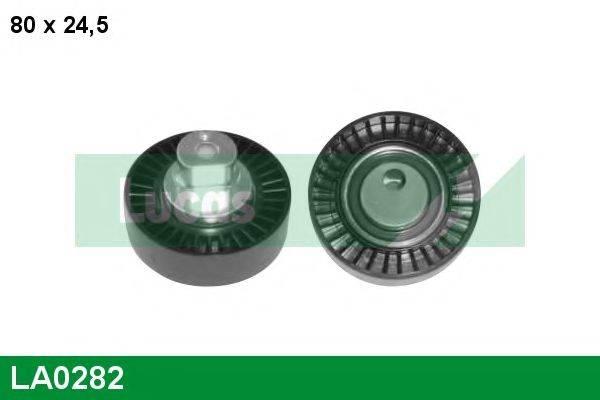LUCAS ENGINE DRIVE LA0282 Паразитный / ведущий ролик, поликлиновой ремень