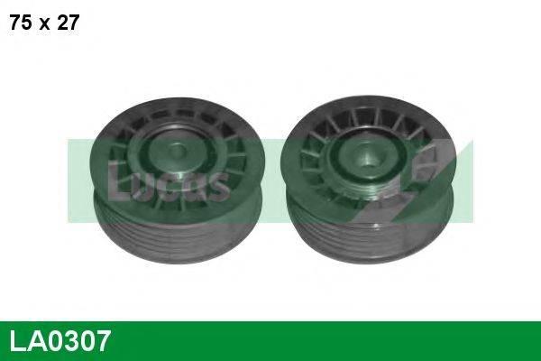 LUCAS ENGINE DRIVE LA0307 Паразитный / ведущий ролик, поликлиновой ремень