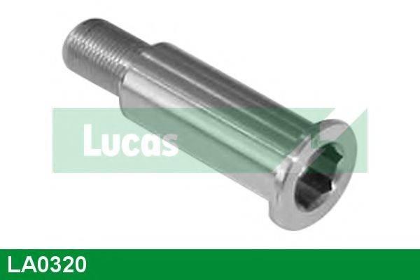 LUCAS ENGINE DRIVE LA0320 Паразитный / ведущий ролик, поликлиновой ремень