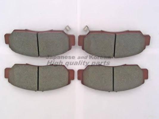 ASHUKI H02540 Комплект тормозных колодок, дисковый тормоз
