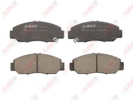 ABE C14046ABE Комплект тормозных колодок, дисковый тормоз