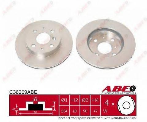 ABE C36009ABE Тормозной диск