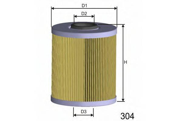MISFAT F689 Топливный фильтр