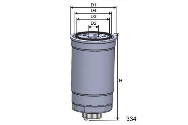 MISFAT M351A Топливный фильтр