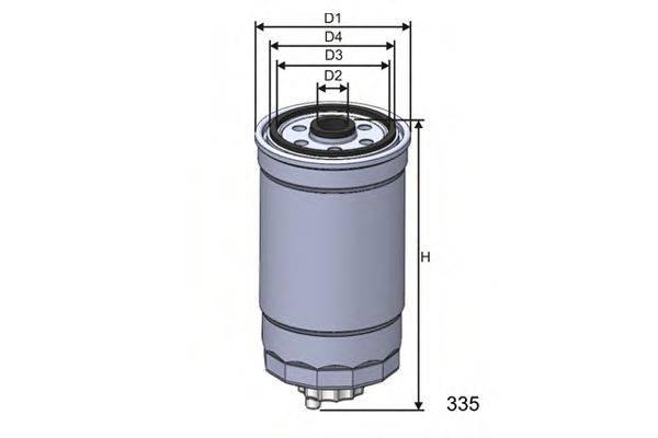 MISFAT M351 Топливный фильтр