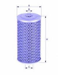 UNICO FILTER FP792X Топливный фильтр