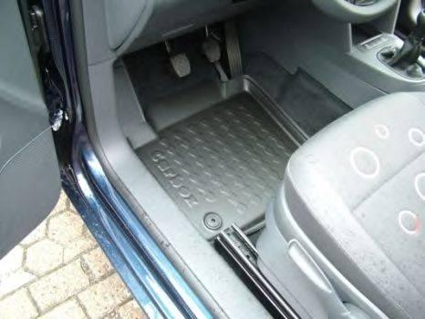 CARBOX 403128000 Резиновый коврик с защитными бортами