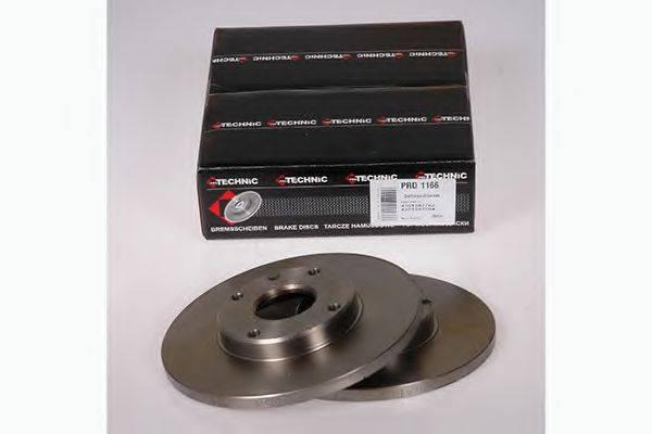 PROTECHNIC PRD1166 Тормозной диск