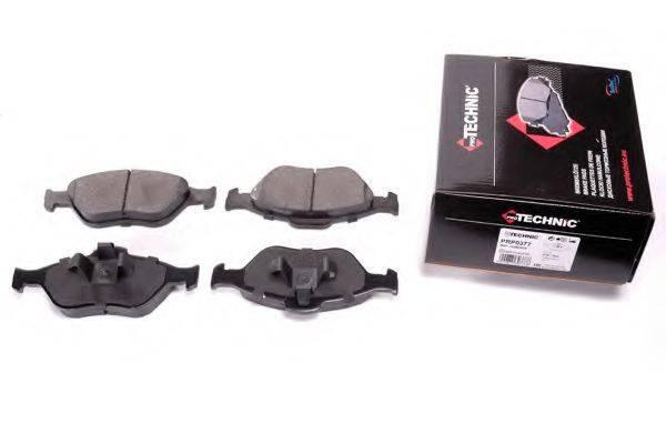 PROTECHNIC PRP0377 Комплект тормозных колодок, дисковый тормоз