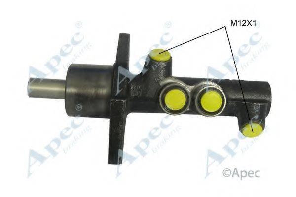 APEC BRAKING MCY271 Главный тормозной цилиндр