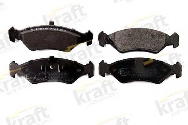 KRAFT AUTOMOTIVE 6002000 Комплект тормозных колодок, дисковый тормоз
