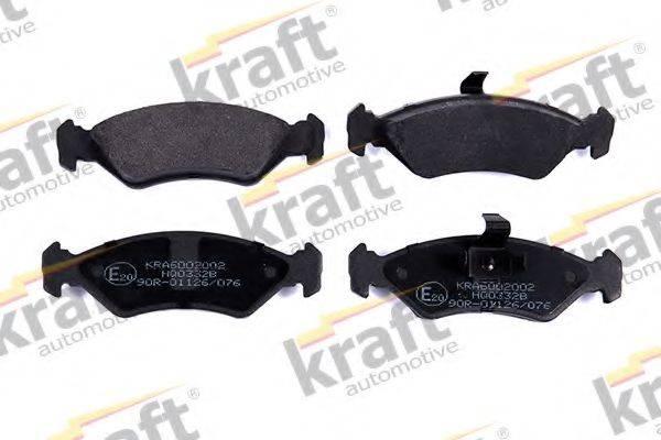 KRAFT AUTOMOTIVE 6002002 Комплект тормозных колодок, дисковый тормоз