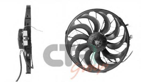 CTR 1209684 Вентилятор, охлаждение двигателя
