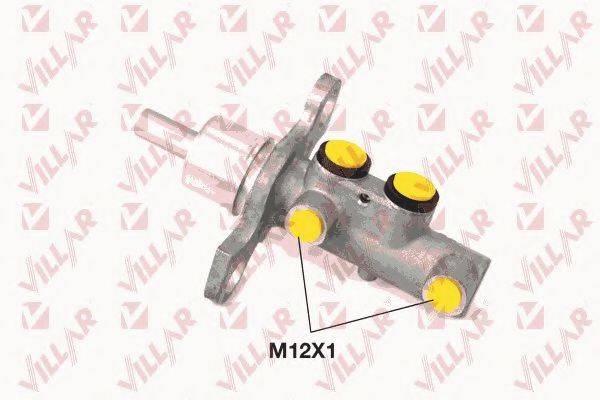VILLAR 6212304 Главный тормозной цилиндр