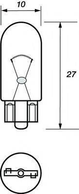 MOTAQUIP VBU501 Лампа накаливания, фонарь указателя поворота; Лампа накаливания, фонарь сигнала торможения; Лампа накаливания, фонарь освещения номерного знака; Лампа накаливания, фара заднего хода; Лампа накаливания, задний гарабитный огонь; Лампа накаливания, oсвещение салона; Лампа накаливания, стояночный / габаритный огонь; Лампа накаливания, дополнительный фонарь сигнала торможения; Лампа, мигающие / габаритные огни