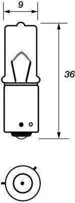 MOTAQUIP VBU433C Лампа накаливания, фонарь указателя поворота; Лампа накаливания, фара заднего хода; Лампа накаливания, задний гарабитный огонь; Лампа накаливания, стояночный / габаритный огонь; Лампа, мигающие / габаритные огни