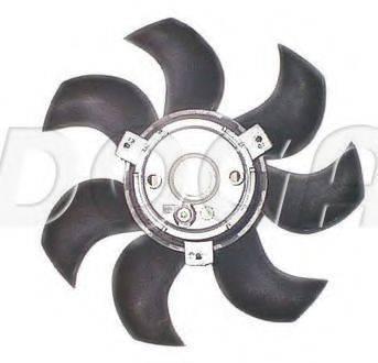 DOGA EAU014 Вентилятор, охлаждение двигателя
