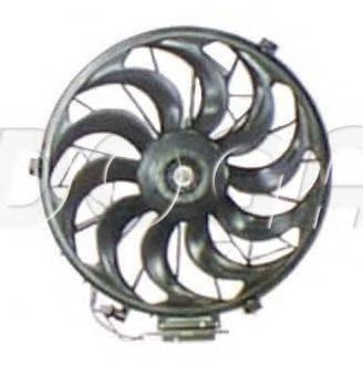 DOGA EBM011 Вентилятор, охлаждение двигателя