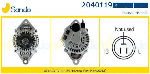 SANDO 20401190 Генератор