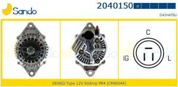 SANDO 20401500 Генератор