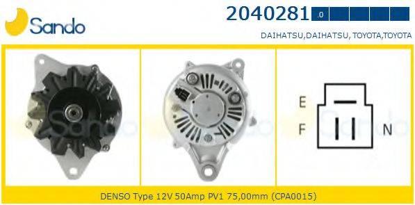 SANDO 20402810 Генератор