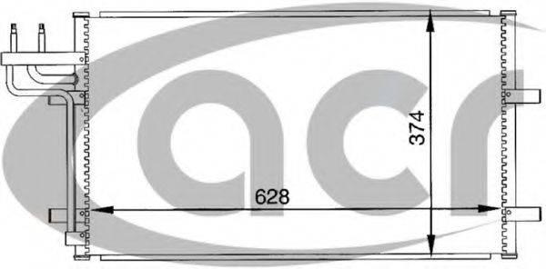ACR 300093 Конденсатор, кондиционер