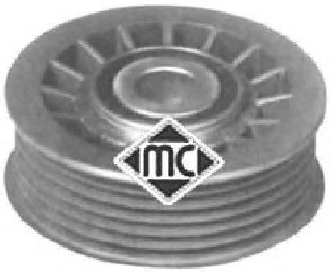 METALCAUCHO 05048 Паразитный / ведущий ролик, поликлиновой ремень