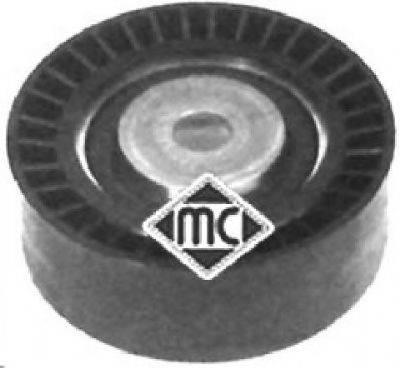 METALCAUCHO 05075 Натяжной ролик, поликлиновой  ремень