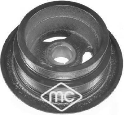 METALCAUCHO 05841 Ременный шкив, коленчатый вал