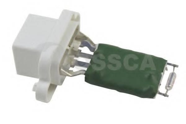 OSSCA 12591 Сопротивление, вентилятор салона