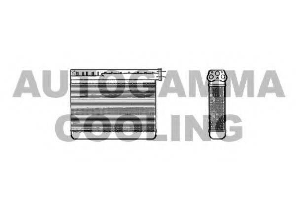 AUTOGAMMA 102539 Теплообменник, отопление салона