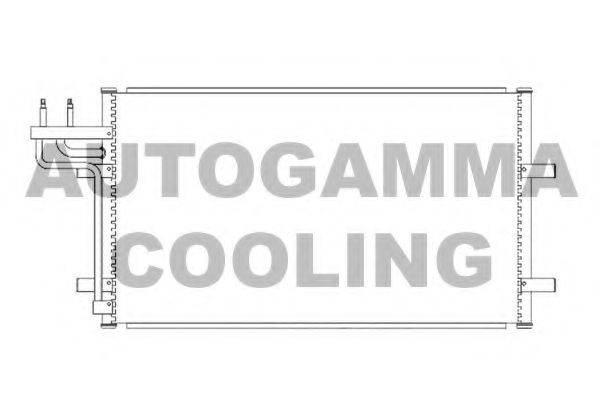 AUTOGAMMA 103426 Конденсатор, кондиционер