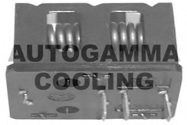 AUTOGAMMA GA15540 Сопротивление, вентилятор салона
