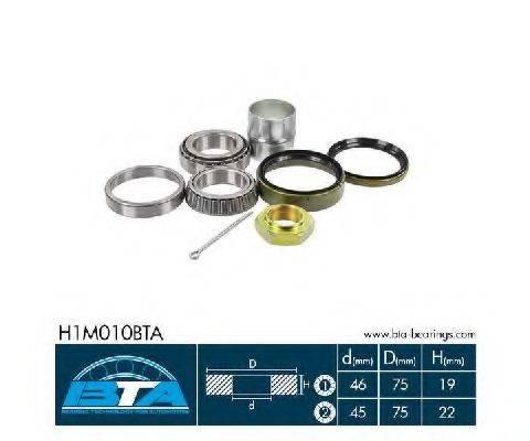 BTA H1M010BTA Комплект подшипника ступицы колеса