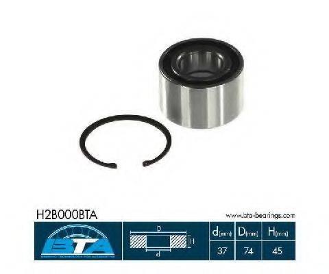 BTA H2B000BTA Комплект подшипника ступицы колеса