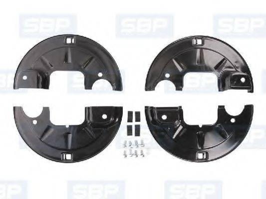 Крышка, тормозной барабан SBP 11-BP002