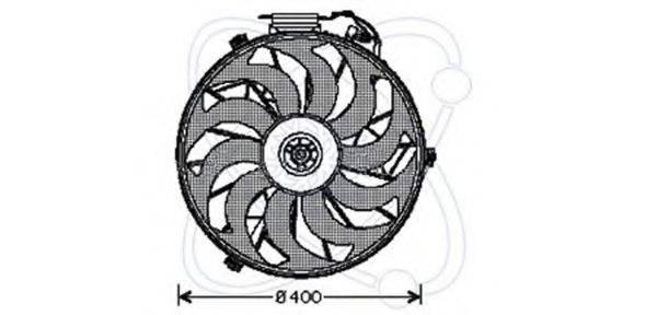 ELECTRO AUTO 32VE004 Вентилятор, охлаждение двигателя