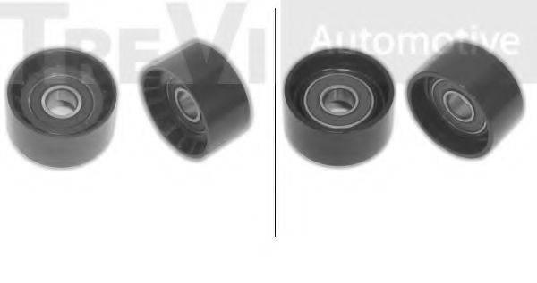 TREVI AUTOMOTIVE TA1277 Паразитный / ведущий ролик, поликлиновой ремень