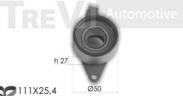 TREVI AUTOMOTIVE KD1361 Комплект ремня ГРМ