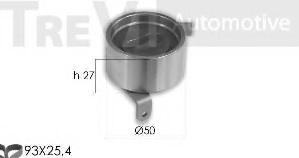 TREVI AUTOMOTIVE KD1362 Комплект ремня ГРМ