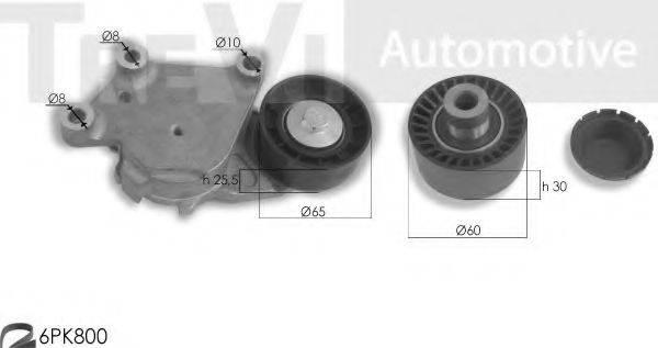 TREVI AUTOMOTIVE KA1055 Поликлиновой ременный комплект